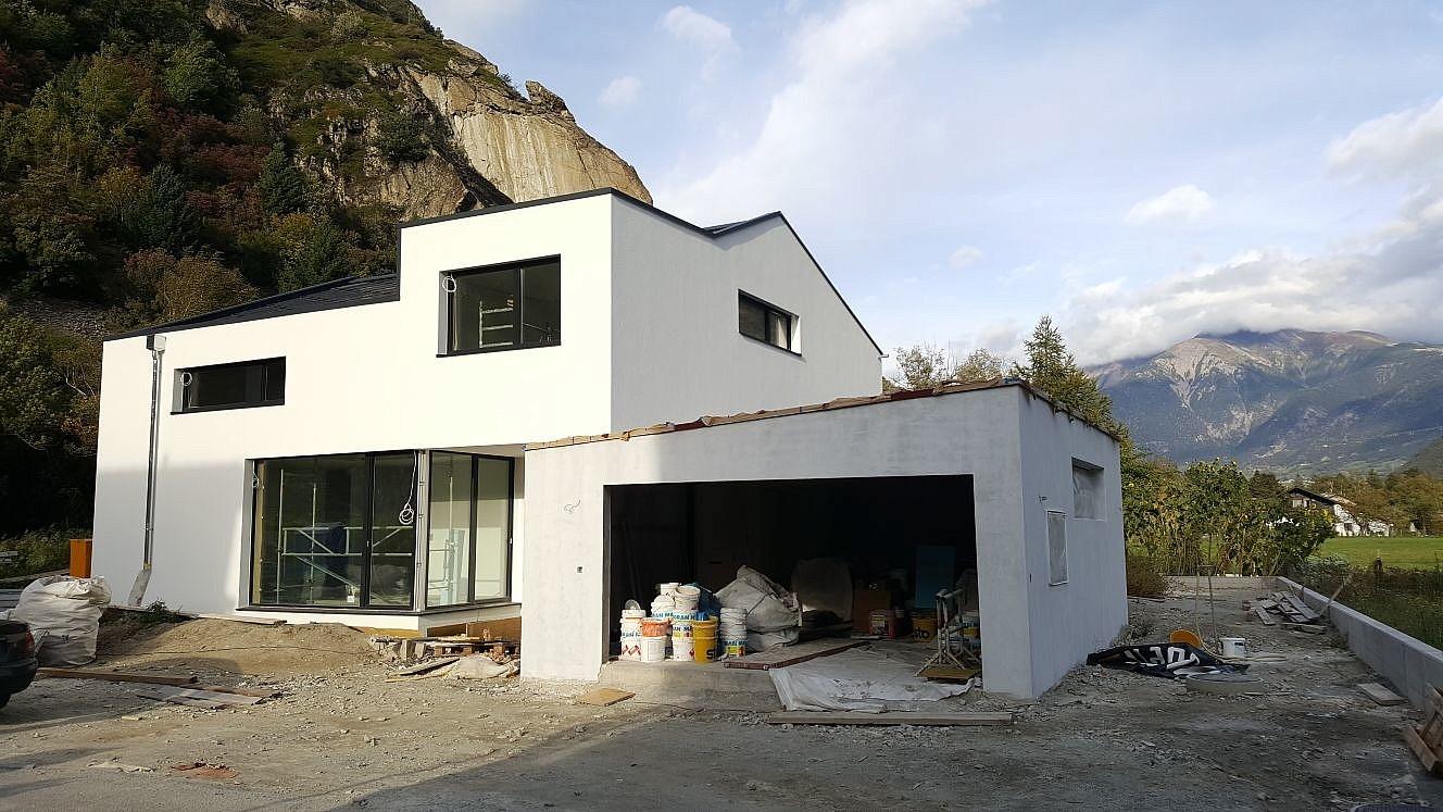 b chtold und moor einfamilienhaus brigerbad b chtold und moor. Black Bedroom Furniture Sets. Home Design Ideas
